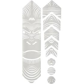 All Mountain Style Basic Kit di Protezione del Telaio 9 pezzi, bianco/nero